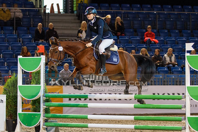 Nora Kurik - GOGO DEMON@ Tallinn International Horse Show 2014 ponide parkuur, 110 cm. Foto: Kylli Tedre / www.kyllitedre.com