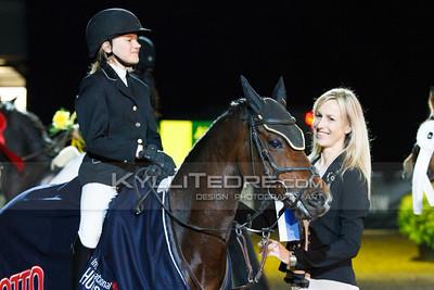 Kristina Albertina Reinstein - SAFFIERAH @ Tallinn International Horse Show 2014 ponide parkuur, 110 cm. Foto: Kylli Tedre / www.kyllitedre.com
