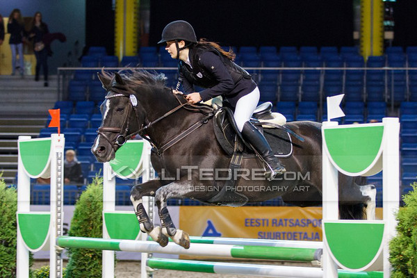 Kirkke Eliise Põldsalu - HETTY @ Tallinn International Horse Show 2014 ponide parkuur, 110 cm. Foto: Kylli Tedre / www.kyllitedre.com