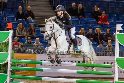 Grete Rebane - MACHO @ Tallinn International Horse Show 2014 ponide parkuur, 110 cm. Foto: Kylli Tedre / www.kyllitedre.com