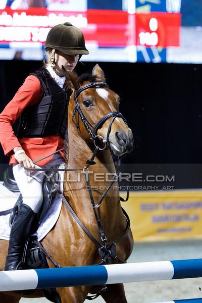 Maria-Johanna Reinstein - OLDEBERT`S DEWIE @ Tallinn International Horse Show 2014 ponide parkuur, 110 cm. Foto: Kylli Tedre / www.kyllitedre.com