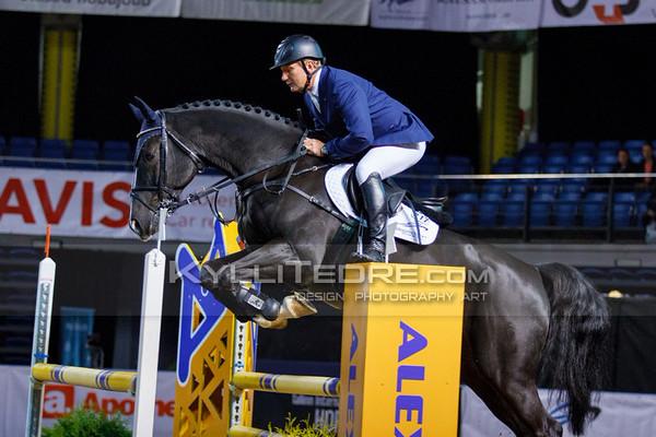 Vladimir BELETSKIY - UDARKO @ Tallinn International Horse Show 2014, Young horses on Friday, presented by Apotheka. Foto: Kylli Tedre / www.kyllitedre.com