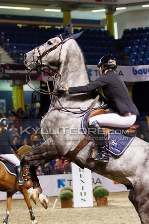 Helena WIST - LOUIS FINO @ Tallinn International Horse Show 2014, Young horses on Friday, presented by Apotheka. Foto: Kylli Tedre / www.kyllitedre.com