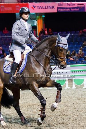 Maxim KRYNA - DIOGRANDE @ Tallinn International Horse Show 2014, Young horses on Friday, presented by Apotheka. Foto: Kylli Tedre / www.kyllitedre.com