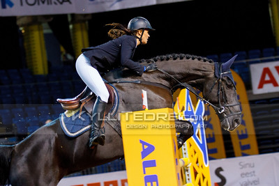 Kelli LAEV - FREE BAY @ Tallinn International Horse Show 2014, Young riders on Friday, presented by G4S. Foto: Kylli Tedre / www.kyllitedre.com