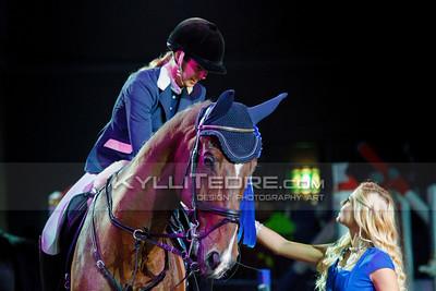 Laura PENELE - PROGRESS @ Tallinn International Horse Show 2014, Young riders on Friday, presented by G4S. Foto: Kylli Tedre / www.kyllitedre.com