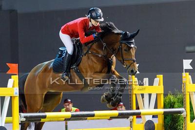 Helen-Britt LIIDEMANN - CATANA VAN 'T STEENPUTJE @ Tallinn International Horse Show 2014, Young riders on Friday, presented by G4S. Foto: Kylli Tedre / www.kyllitedre.com