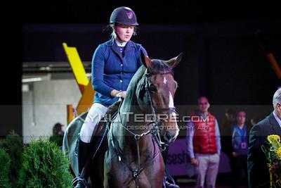 Roosa RAJAM€KI - WISH OF PALATINA @ Tallinn International Horse Show 2014, Young riders on Friday, presented by G4S. Foto: Kylli Tedre / www.kyllitedre.com
