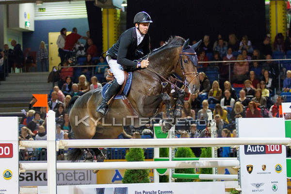 Andis VARNA - NEVER MIND 22 @ Tallinn International Horse Show 2014, Saturday 145 cm. Foto: Kylli Tedre / www.kyllitedre.com