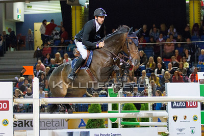 Andis VARNA - NEVER MIND 22 @ Tallinn International Horse Show 2014, Saturday 145 cm. Foto: Kylli Tedre / www.kyllitedre.com