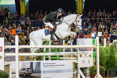 Rein PILL - VIRGIN EXPRESS @ Tallinn International Horse Show 2014, Saturday 145 cm. Foto: Kylli Tedre / www.kyllitedre.com