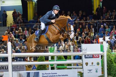 Andrius PETROVAS - ZUKO S @ Tallinn International Horse Show 2014, Saturday 145 cm. Foto: Kylli Tedre / www.kyllitedre.com