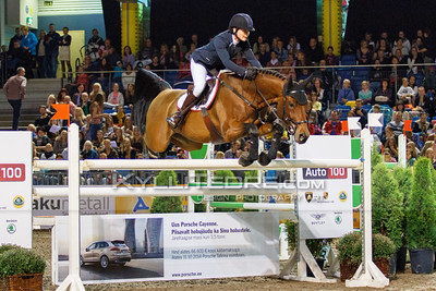 Margit M€GI - ARTAS @ Tallinn International Horse Show 2014, Saturday 145 cm. Foto: Kylli Tedre / www.kyllitedre.com