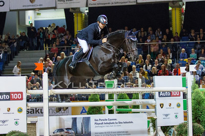 Urmas RAAG - PICCOLINA @ Tallinn International Horse Show 2014, Saturday 145 cm. Foto: Kylli Tedre / www.kyllitedre.com