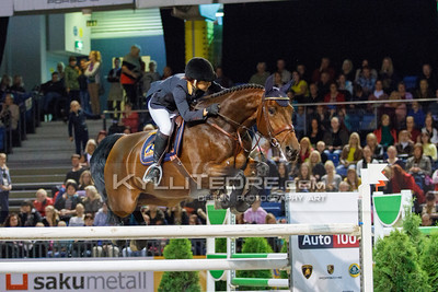 Kertu KLETTENBERG - ULRIKE R @ Tallinn International Horse Show 2014, Saturday 145 cm. Foto: Kylli Tedre / www.kyllitedre.com