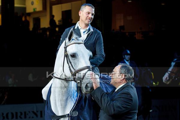 Tiit KIVISILD - SULLIVAN, Jaanus Berkmann @ Tallinn International Horse Show 2014, 6-bar on Saturday, presented by Saku Metall. Foto: Kylli Tedre / www.kyllitedre.com