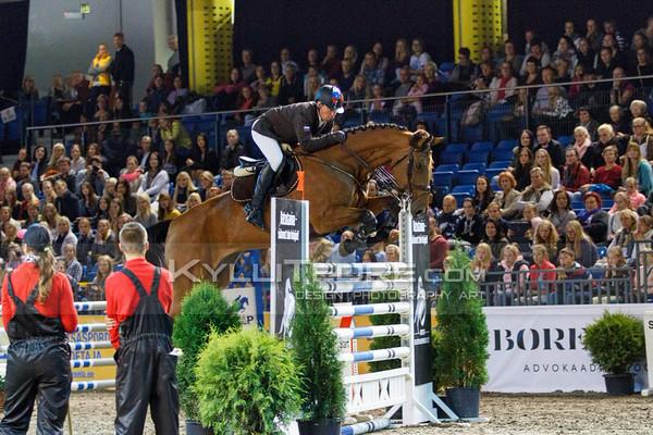 Alexandr BELEKHOV - QUINCY 127 @ Tallinn International Horse Show 2014, 6-bar on Saturday, presented by Saku Metall. Foto: Kylli Tedre / www.kyllitedre.com