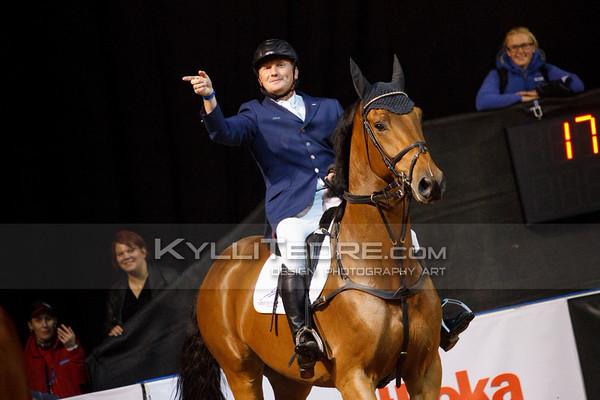 Vladimir BELETSKIY - GRIFFONE @ Tallinn International Horse Show 2014, 6-bar on Saturday, presented by Saku Metall. Foto: Kylli Tedre / www.kyllitedre.com