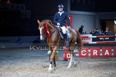 Siarhei ANTANOVICH - SIR STENOGRAPH @ Tallinn International Horse Show 2014, Young Horses 125/130 cm on Saturday, presented by Cramo. Foto: Kylli Tedre / www.kyllitedre.com