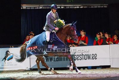 Kristaps NERETNIEKS - FORTUNA @ Tallinn International Horse Show 2014, Young Horses 125/130 cm on Saturday, presented by Cramo. Foto: Kylli Tedre / www.kyllitedre.com
