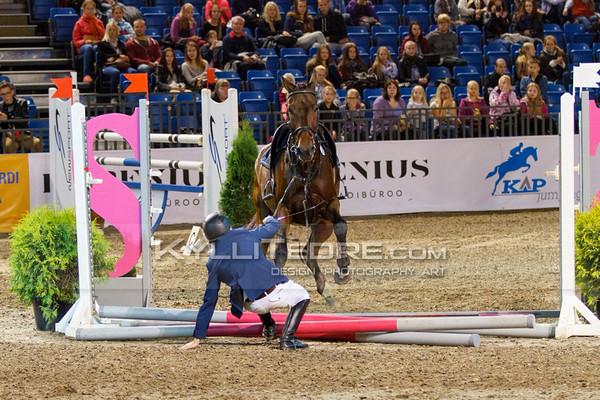 John ANTELL - QUITE MAGIC @ Tallinn International Horse Show 2014, Saturday: Young Riders, 130 cm. Foto: Kylli Tedre / www.kyllitedre.com
