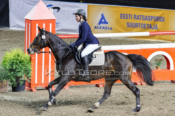 Akvile DRUKTEINYTE - FIESTA @ Tallinn International Horse Show 2014, Saturday: Young Riders, 130 cm. Foto: Kylli Tedre / www.kyllitedre.com