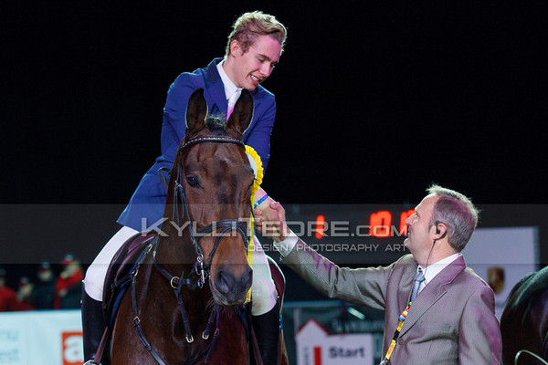 John ANTELL - QUITE MAGIC, Siim N›mmoja @ Tallinn International Horse Show 2014, Saturday: Young Riders, 130 cm. Foto: Kylli Tedre / www.kyllitedre.com