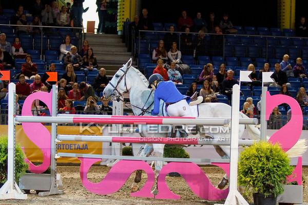 Janette KYYRI€INEN - ULRIDA @ Tallinn International Horse Show 2014, Saturday: Young Riders, 130 cm. Foto: Kylli Tedre / www.kyllitedre.com