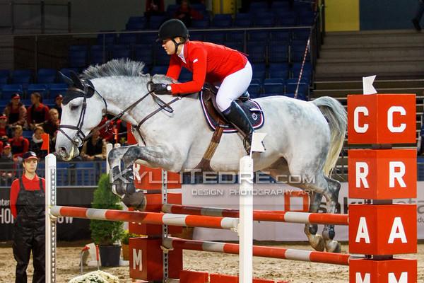 Sandra Liis H€€L - GAMIN S @ Tallinn International Horse Show 2014, Saturday: Young Riders, 130 cm. Foto: Kylli Tedre / www.kyllitedre.com
