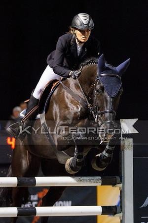Kelli LAEV - FREE BAY @ Tallinn International Horse Show 2014, Saturday: Young Riders, 130 cm. Foto: Kylli Tedre / www.kyllitedre.com