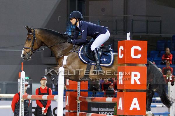 Nelli PAJUHARJU - CON PLEASURE @ Tallinn International Horse Show 2014, Saturday: Young Riders, 130 cm. Foto: Kylli Tedre / www.kyllitedre.com