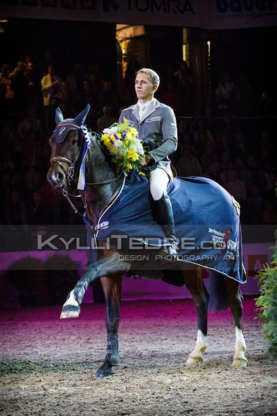 Kristaps NERETNIEKS - CON PLEASURE @ Tallinn International Horse Show 2014,  135-140 cm open class on Sunday. Foto: Kylli Tedre / www.kyllitedre.com