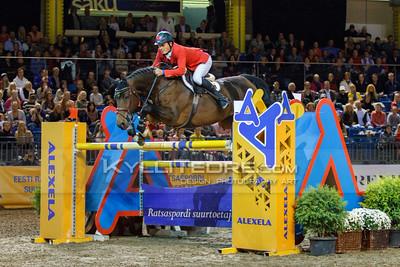 Danielius GUTKAUSKAS - TOM RIDDLE S @ Tallinn International Horse Show 2014, Sunday CSI-W 160 cm. Foto: Kylli Tedre / www.kyllitedre.com