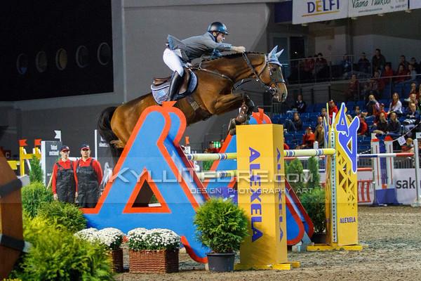 Michal KAZMIERCZAK - STAKORADO @ Tallinn International Horse Show 2014, Sunday CSI-W 160 cm. Foto: Kylli Tedre / www.kyllitedre.com