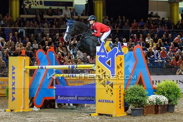 Jessica TIMGREN - VAILLANT @ Tallinn International Horse Show 2014, Sunday CSI-W 160 cm. Foto: Kylli Tedre / www.kyllitedre.com