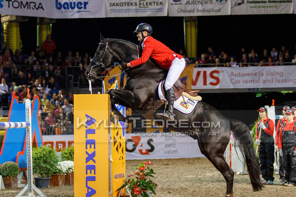 Oliver KARMA - VANCO Z @ Tallinn International Horse Show 2014, Sunday CSI-W 160 cm. Foto: Kylli Tedre / www.kyllitedre.com