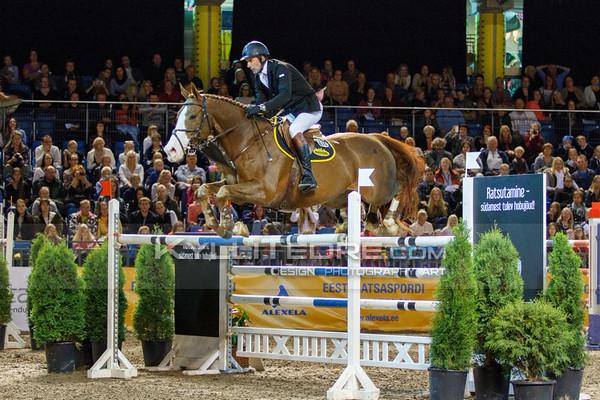 Rein PILL - A BROK @ Tallinn International Horse Show 2014, Sunday CSI-W 160 cm. Foto: Kylli Tedre / www.kyllitedre.com