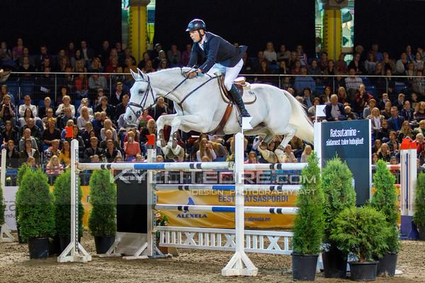 Tiit KIVISILD - CINNAMON @ Tallinn International Horse Show 2014, Sunday CSI-W 160 cm. Foto: Kylli Tedre / www.kyllitedre.com