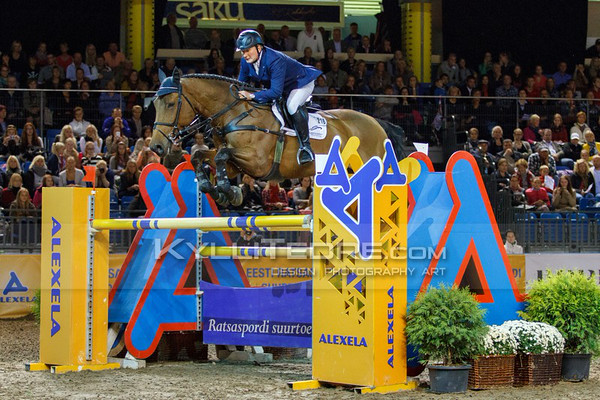 Vladimir BELETSKIY - ROCKETMAN 2 @ Tallinn International Horse Show 2014, Sunday CSI-W 160 cm. Foto: Kylli Tedre / www.kyllitedre.com