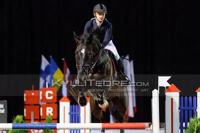 Meriel ISOK - DIAMOND 4 EVER @ Tallinn International Horse Show 2014, Sunday: Young Riders, 130 cm presented by Avis Liising. Foto: Kylli Tedre / www.kyllitedre.com