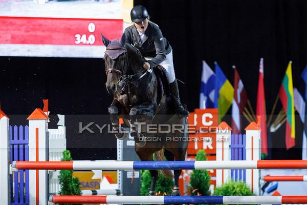 Vanessa M€LBERG - PEPERONI @ Tallinn International Horse Show 2014, Sunday: Young Riders, 130 cm presented by Avis Liising. Foto: Kylli Tedre / www.kyllitedre.com