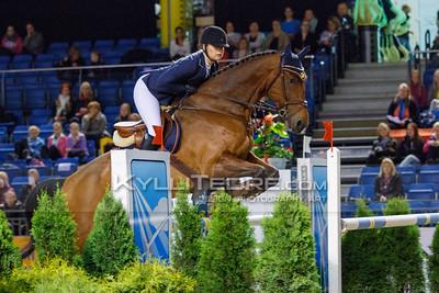 Kristi LUHA - VACANTOS @ Tallinn International Horse Show 2014, Sunday: Young Riders, 130 cm presented by Avis Liising. Foto: Kylli Tedre / www.kyllitedre.com