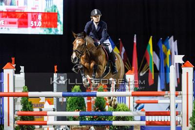 Merilyn ISOK - FAVORITE VAN DE KOEBOSHOEVE @ Tallinn International Horse Show 2014, Sunday: Young Riders, 130 cm presented by Avis Liising. Foto: Kylli Tedre / www.kyllitedre.com