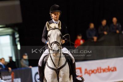 My RELANDER - BLACKWOODLAND ROCK @ Tallinn International Horse Show 2014, Sunday: Young Riders, 130 cm presented by Avis Liising. Foto: Kylli Tedre / www.kyllitedre.com