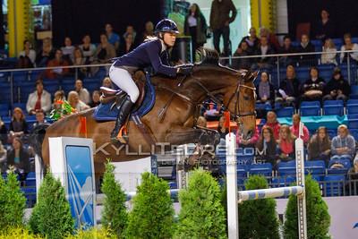Uliana VESHKURTSEVA - WEICA @ Tallinn International Horse Show 2014, Sunday: Young Riders, 130 cm presented by Avis Liising. Foto: Kylli Tedre / www.kyllitedre.com