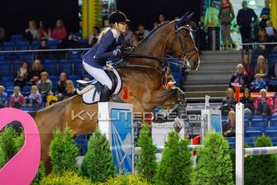 Laura PENELE - PROGRESS @ Tallinn International Horse Show 2014, Sunday: Young Riders, 130 cm presented by Avis Liising. Foto: Kylli Tedre / www.kyllitedre.com