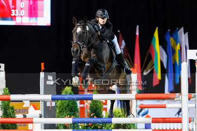 Elis NĶGEL -  FP PALASI @ Tallinn International Horse Show 2014, Sunday: Young Riders, 130 cm presented by Avis Liising. Foto: Kylli Tedre / www.kyllitedre.com
