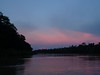"After dinner overlooking the Kinabatangan, we'll try at least one night cruise. <div id=""caption_tourlink"" align=""right""> [photo © guide Rose Ann Rowlett]</div>"