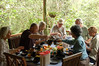 "Lunch at Cassowary House near Cairns  <div id=""caption_tourlink"" align=""right"">[photo © participant Jack Brown]</div>"