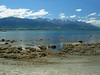 """View from our hotel in Kaikoura <div id=""""caption_tourlink"""" align=""""right""""> [photo © participant Diana Bradshaw]</div>"""